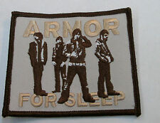 ARMOR FOR SLEEP COLLECTABLE RARE VINTAGE PATCH EMBROIDED 2006 METAL
