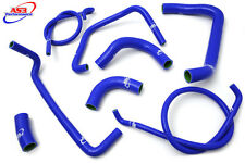 KAWASAKI ZX12R ZX 12 R 2000-2006 HIGH PERFORMANCE SILICONE RADIATOR HOSES BLUE
