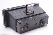 EARLY*   GALLUS JUMELLE TYPE NO.0 STEREO 3D 45X10.7MM CAMERA 75MM F3.5, 3 SPEED