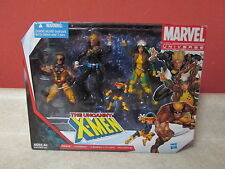 Marvel Universe Uncanny X-Men New Box Set Figure Pack Wolverine Rogue Longshot