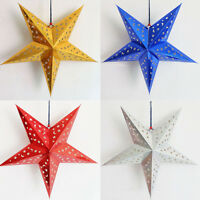 3D Laser Star Paper Lantern Lampshade Pub Wedding birthday party hanging decor