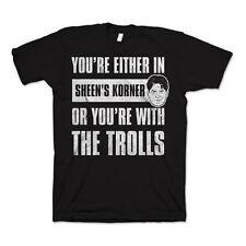 Charlie Sheen-Troll T-Shirt XL NEU