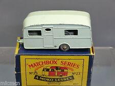 """MATCHBOX MOKO LESNEY  MODEL No.23a   """" BERKELEY  """"CARAVAN  VN MIB   ( LOT 2)"""