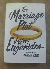 SIGNED - THE MARRIAGE PLOT by Jeffrey Eugenides - 1st/1st   HCDJ 2011 - Pulitzer