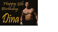 TOM HARDY MAD MAX Birthday Card A5 PERSONALISED