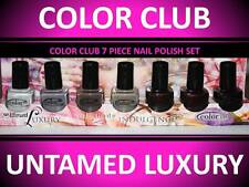 7 PACK!!! COLOR CLUB DANCE UNTAMED LUXURY INDULGENCE NAIL POLISH LOT VARIETY SET
