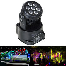 105W RGBW 4 in 1 LED Moving Head Light DMX512 DJ XMAS Club Party Stage Lighting