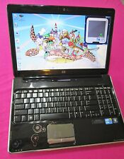 FAST! HP pavilion dv6 laptop Intel I7-620m 2.66-3.33ghz 4GB ram 320GB hdd W7