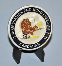 OEF Operation Enduring Freedom Kandahar Afghanistan Challenge Coin