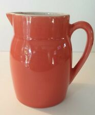Vintage Ceramifrance Milk Pitcher Cerami France PEACH MELON CREAMER Kitchenware