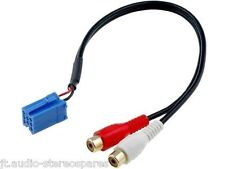 Blaupunkt Uni-link Aux In Rca Connector For rear Aux In On Compatible Car Radios