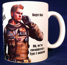 Resident Evil - Piers Nivans - Coffee MUG CUP - RE6 Biohazard 6