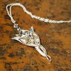 Lord of the Rings Arwen Evenstar Pendant Sterling Silver Noble Collection NEW