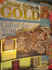 Cross Stitch Gold UK Magazine #28-Margay/Fruit & Flower Bell Pull/Paisley Sample