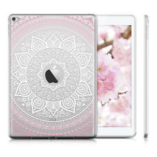 kwmobile CRYSTAL CASE TPU SILIKON FÜR APPLE IPAD AIR 2 INDISCHE SONNE IN ROSA