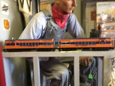 WILLIAMS O SCALE JERSEY CENTRAL TRAINMASTER #2341  TESTED..GREAT SHAPE