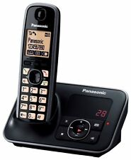 NEW Panasonic KX-TG6621 KX-TG6622 Main Cordless Phone DECT Answer Machine Black