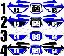 2002-2008 Yamaha YZ85 YZ 85 Number Plates Side Panels Graphics Decal