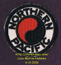 LMH PATCH Badge  NORTHERN PACIFIC Railroad  NP Railway North Coast Ltd. Yin Yang