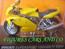 MOTO  1/24  DUCATI  SUPERSPORT 1000 DS FF 2003   MOTORCYCLE MOTORBIKE
