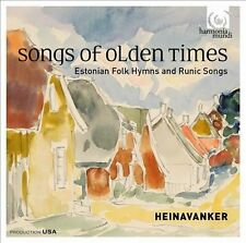 Songs of Olden Times: Estonian Folk Hymns and Runic Songs (CD, Sep-2013,...