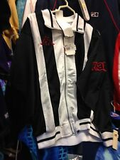 KAPPA JACKET BLACK/WHITE SMALL MED LARGE OFRONTAT£ 22 BNWl  /navy polyester jack