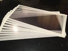 10 X Sand Shot blasting cabinet visor Screens 100mm X 70mm Any Size Available