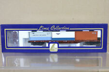LIMA 303141 NSB DETGAR LINJEGODS CONTAINERWAGEN CONTAINER WAGON 328-3 MIB ni