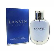 LANVIN L'HOMME 3.4 oz EDT eau de toilette Spray Men's Cologne 100 ml Tester