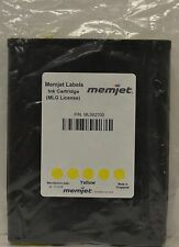 New Memjet Labels 250ml YELLOW Ink Cartridge ML063700 Powered by Memjet