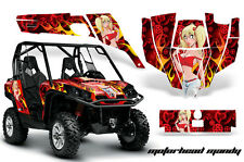AMR Racing CanAm Commander Graphic Decal Kit UTV Accessories All Years MOTO MNDY