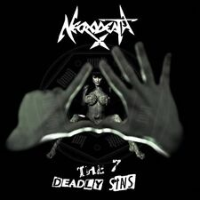 Necrodeath - The 7 Deadly Sins CD 2014 digipack thrash Italy Scarlet Records