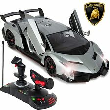 Best Choice Products 1/14 Scale RC Lamborghini Veneno Gravity Sensor Remote C...