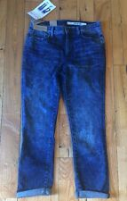 NWT Women's DKNY JEANS Soho Skinny Crop Mid Rise Skinny Jeans Size 6