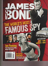 James Bond The World's Most Famous Spy Cars*Guns*Gadgets*Girls Magazine 2015.