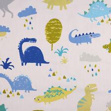 Fabric Remnant 100% Cotton 50cm x 40cm Prestigious Textiles Dino Denim