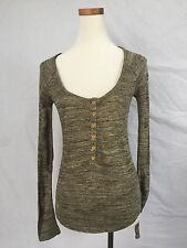NEW Urban Outfitters BDG Henley Knit Cardigan Sweater Sz M 8- 10