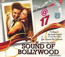 SOUND OF BOLLYWOOD 17 (AASHIQUI 2, YEH JAWAANI HAI DEEWANI) 2 CD SET - FREE POST