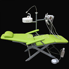 Dental Portable Folding Chair w/ LED Light + Turbine Unit  DHL Free Shipping IT