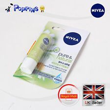 New Genuine Nivea Lip Balm Pure & Natural