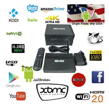 DMR  EM92 Android 6 TV Box MQX Killer S912 3GB/16GB Fully Loaded Plug and Play!