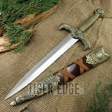 FIXED-BLADE DAGGER | Medieval King Arthur Knight Knife Costume Prop Replica