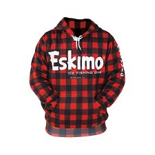 **NEW Eskimo Buffalo Plaid Ice Fishing Hoodie XL 24394