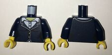 LEGO - Minifig, Torso Female Suit Jacket w/ White Collar Shirt, Buttons Pattern