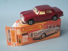 Lesney Matchbox Rolls-Royce Silver Shadow II Metallic Red Boxed