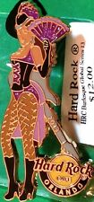 Hard Rock Cafe ORLANDO 2013 BURLESQUE Girl Series PIN with Guitar NEW in HRC Bag