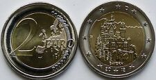 2012 Germany 2 EURO COIN BAVARIA Bayern Neuschwanstein German - J - NEW MINT UNC