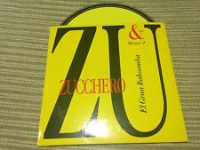 ZUCCHERO & MOUSSE T SUNG IN SPANISH CD SINGLE SPAIN PROMO GRAN BABOOMBA CARD SLV