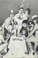 "Party With Cast ""OH! CALCUTTA!"" New York's Erotic Musical 1984 Invite Postcard"