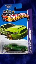 Hot Wheels '10 Ford Shelby GT500 Supersnake Green Diecast 1:64 HW Showroom 2013